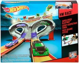 MATTEL Hot Wheels Super Speed Blastway Track Set CDL49 [Exclusive] NIB/S... - $34.99