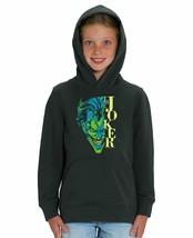 DC Comics The Joker Half Face Children's Unisex Black Hoodie - $23.82