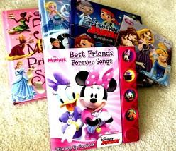Disney Picture Pop Up Minnie Fairy Tales Frozen Classics Song Hardback B... - $29.98