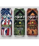 Rip It Energy Drinks Tribute Editions (3 Flavor Variety Pack, 12 Cans) - $11.88