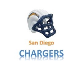 San Diego Chargers New NFL Inflatable Football Helmet Fan Tailgate Party... - $11.58