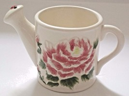 Porcelain Floral Watering Can 2007 Avon Collectible Discontinued - $11.52