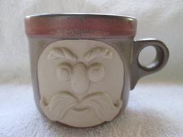Fitz and Floyd, FF, mustache mug/cup - $15.00