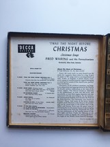 Vintage 1949 Decca 45rpm Twas the Night Before Christmas Record Set image 6