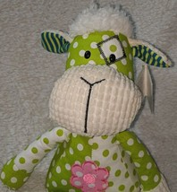 GANZ HE9981 Polyester Fiber 15 Inch Quil Tees Green Lamb For Ages Three And Up image 1
