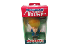 President Trump Collectible Troll Doll Hair To The Chief New Sealed In Box - $9.90