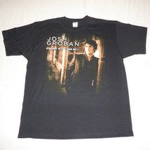 Josh Groban Straight To You 2011 Concert Tour Black T Shirt Mens Extra L... - $14.84