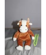 """TY Retired Beanie Baby Bessie Cow 8"""" 1995 Original Ty - $14.84"""