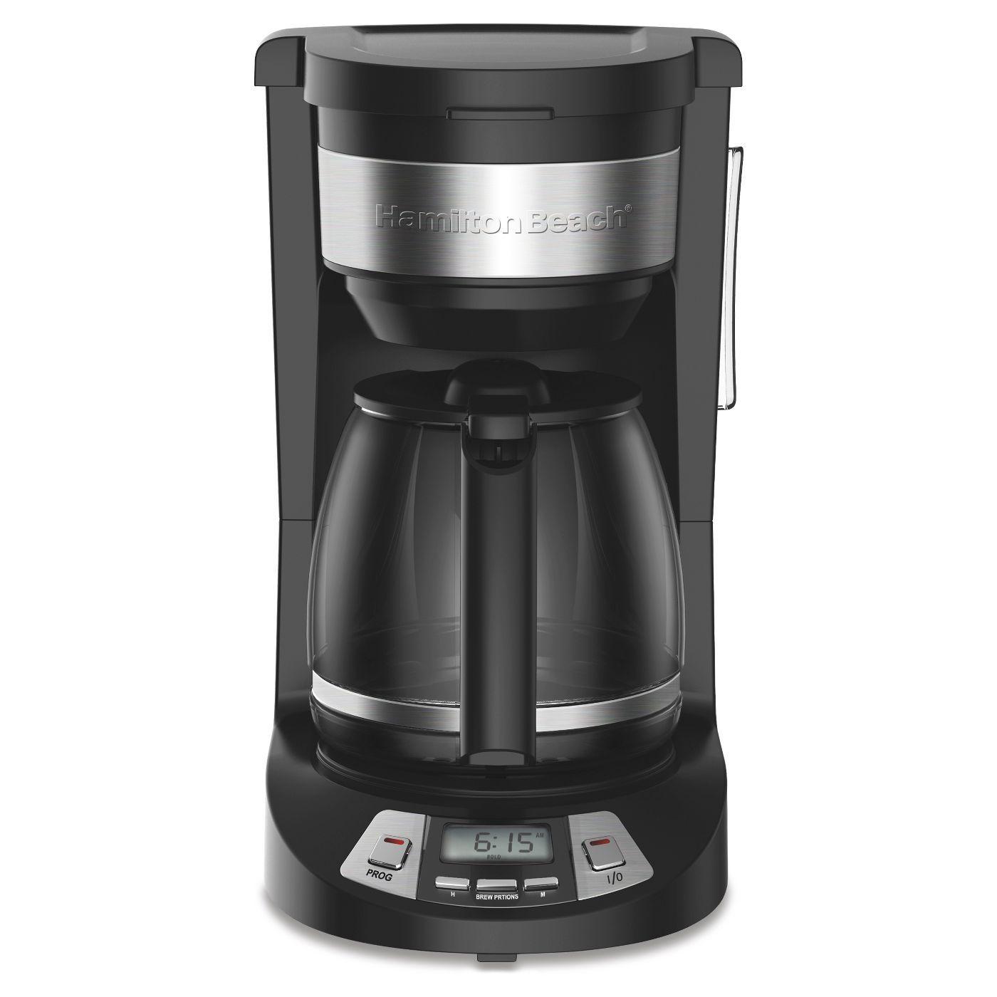 Hamilton Beach 12 Cup Programmable Coffee Maker - $36.99