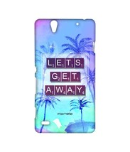 Lets Get Away - Sublime Case for Sony Xperia C4 - $23.95