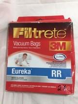 Eureka RR Size 3M FILTRETE VACUUM CLEANER BAGS Pack of 2 - $7.83