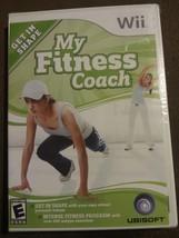 My Fitness Coach (Nintendo Wii, 2008) Get in Shape Program 450 Exercises NIP - $11.69