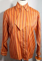 Guy Laroche Sportswear vintage women's blouse wool made in France size 5/6 - $48.50