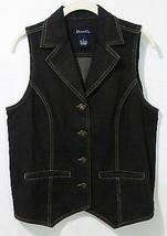 Denim & Co Donna S Denim Jeans Gilet senza Maniche - $18.02