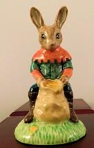 "Royal Doulton Bunnykins Figurine - ""Will Scarlett"" DB264 - $47.49"