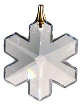 Swarovski 25mm Clear Crystal Snowflake Prism image 1