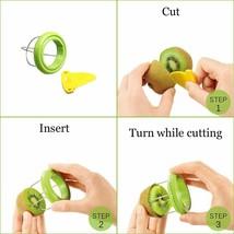 Kiwi Peeler Slicer Cutter Fruit Corers Separator Kitchen Gadgets Tools for image 2