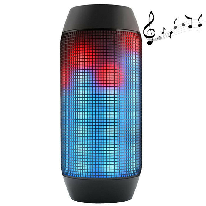 Quality Pulse Wireless Speaker with LED Light, DC 5V 2.3A