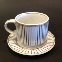 Fitz & Floyd Parielle (Switzerland) Restaurant Coffee Cup And Saucer - $22.99