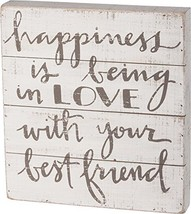 Primitives by Kathy Happiness is Being in Love with Your Best Friend Sla... - $22.65