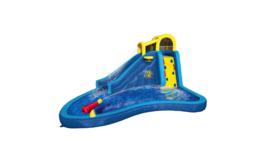 Banzai Inflatable Big Blast Cannon Splash Slide Lagoon Pool Outdoor Wate... - $1,299.99
