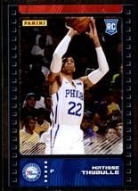 2019-20 Panini NBA Sticker Box Standard Size Silver Foil Insert #95 Matisse Thyd - $7.95