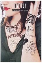 Tattly Temporary Tattoos Inspirational Set, 1 Ounce - $17.37