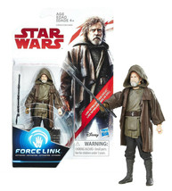 Star Wars Force Link Luke Skywalker (Jedi Exile) 3.75-Inch Figure NIP - $11.88