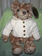 "FAO Schwarz Teddy Bear wearing sweater 17""H NWT - $23.27"