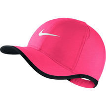 NEW! NIKE Youth Featherlight Hat-Pink/Black/White - $42.21