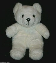 "20"" VINTAGE 1986 WHITE BURLI BEAR TEDDY COMMONWEALTH STUFFED ANIMAL PLUS... - $35.53"