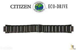 Citizen Conducción Ecológica. AU1065-58G Negro Metalizado-Cromado Acero - $105.51