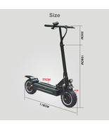 Folding electric scooter 11 inch 3200w motors  - $1,798.99