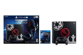 Sony PlayStation 4 PRO 1TB Console Star Wars Battlefront 2 II Bundle Black [PS4] - $818.00