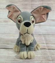 Disney Store Plush Tramp Stuffed Animal Bean Bag Beanie Mutt Dog Lady  - $9.69