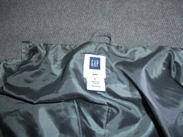 Men's Gap Wool Blend Winter Coat W/ Hoodie Size Large - $48.45