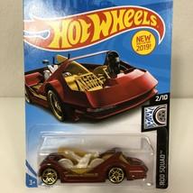 Hot Wheels Car Red Deora Iii Rod Squad Mattel New - $5.52