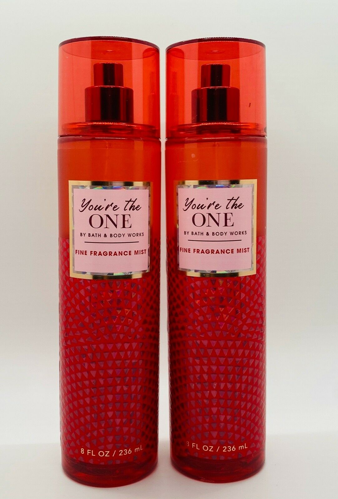 Primary image for 2-Pack Bath & Body Works YOU'RE THE ONE 2020 Fine Fragrance Mist Spray Set 8 oz