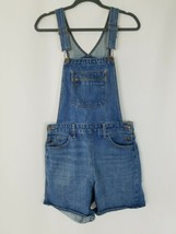 Levis orange tab jean denim bib overalls shortalls blue - $59.40