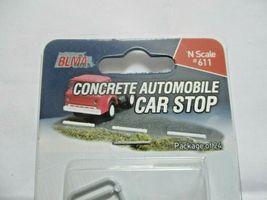 Atlas #BLMA 611 Concrete Automobile Car Stop Package of 24  N-Scale image 3