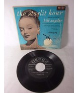 The Starlit Hour - Piano Solos by Bill Snyder - 45 RPM Extended Play Ser... - $19.79