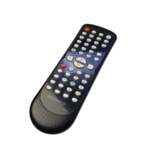 Magnavox NB677 Replace Remote For DVD Player Black White Button Wireless... - $18.37