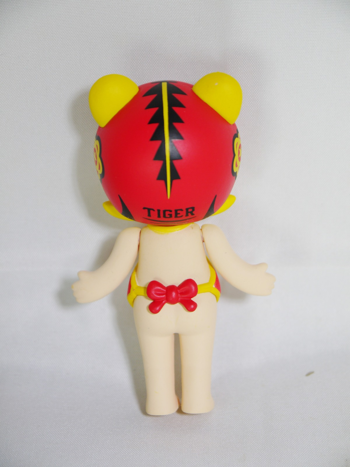 POP MART Kennyswork BLOCK Little Molly Chinese Zodiac Tiger Folk Art Cloth Tiger