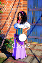 Esmeralda Costume for Adults, Esmeralda Dress Halloween Costume - $139.00