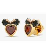 Kate Spade x Disney for minnie mouse stone studs Heart Earrings ~NWT~ - $64.35