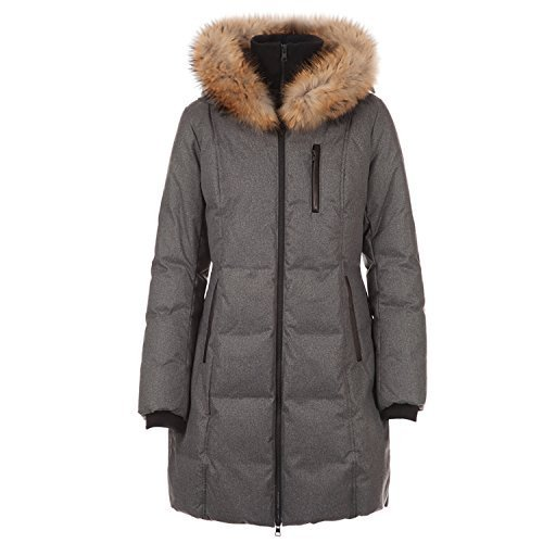 Soia & Kyo Women's Brushed Down Parka CHRISSY-F6 Ash X-Small
