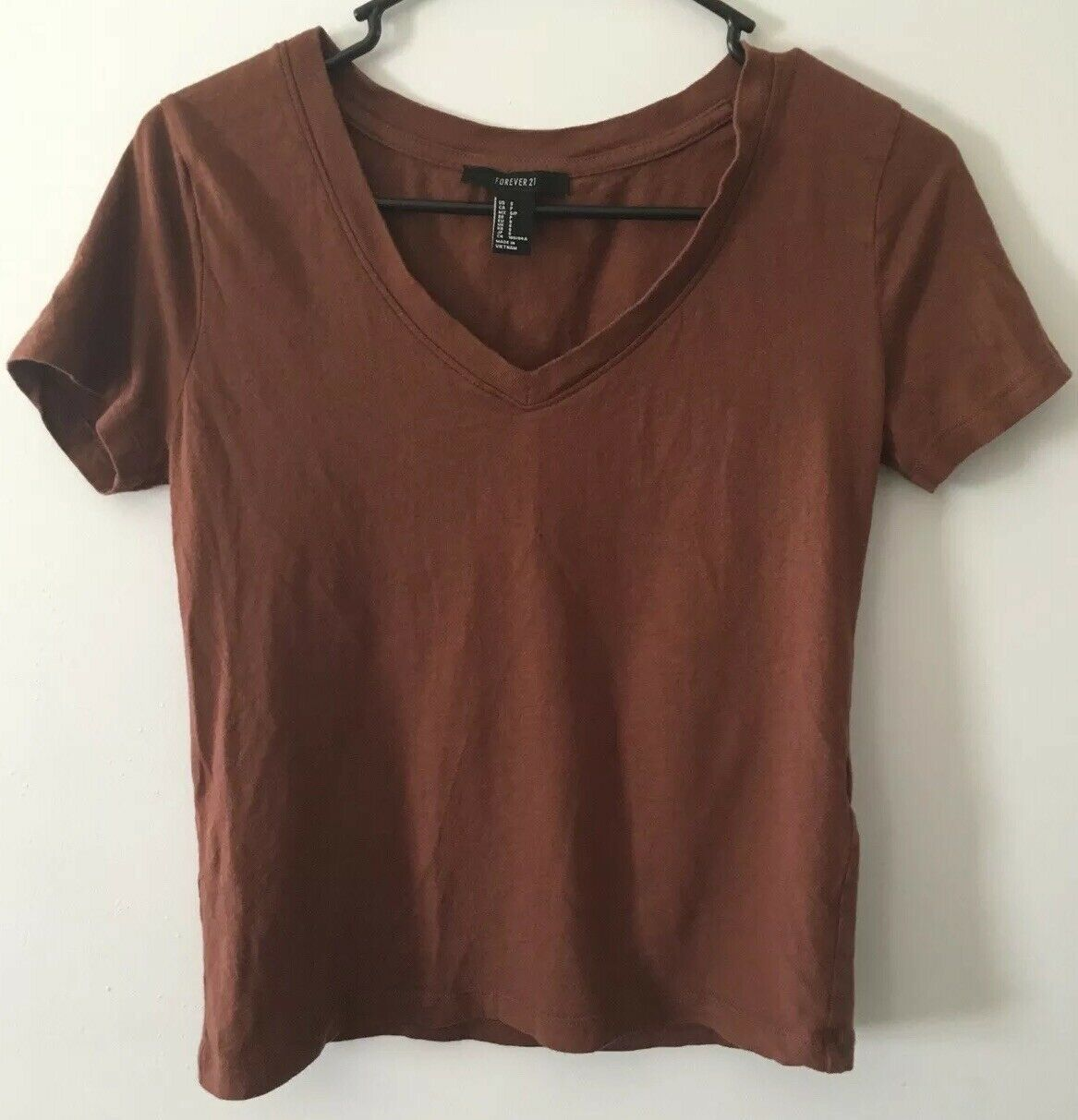 Primary image for Forever 21 Girls V Neck T-shirt Size Small
