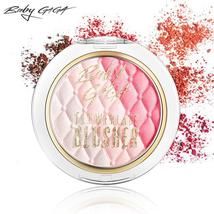 BABY GAGA Makeup Cheek Blush Powder 3 Colors Waterproof Long-Lasting Blush Maqui - $5.84