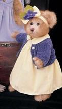 """Bearington Bears """"Claudia"""" 14"""" Collector Bear- Sku #1309 - 2002 - $39.99"""