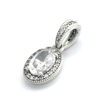 Authentic Pandora Vintage Elegance Clear CZ Pendant Charm, 396246CZ, New - $56.99